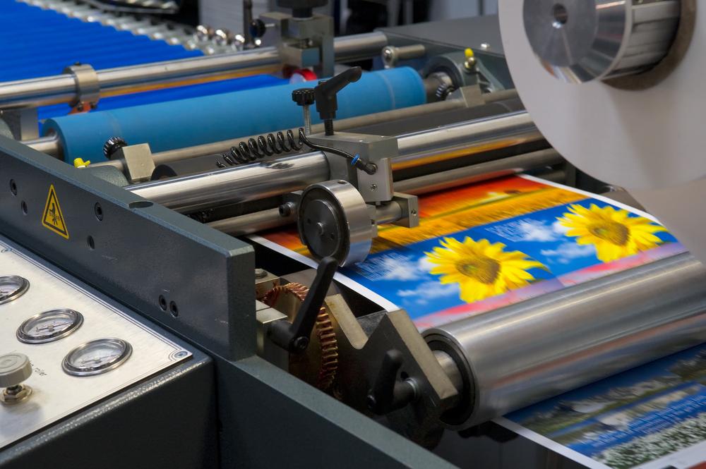 Custom printing press